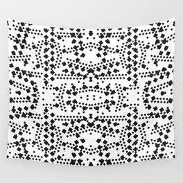 black square elements Wall Tapestry