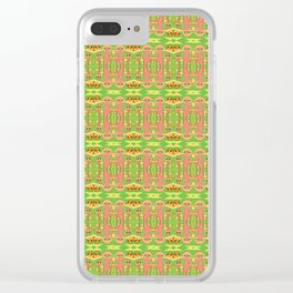 Mother Mushroom Clear iPhone Case