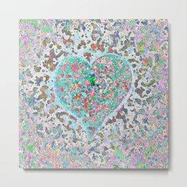 Loving Heart Abstract No. 2 Metal Print