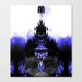 CHIMP CONNECTION Canvas Print
