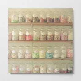 Sweet Shop Metal Print