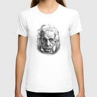 einstein T-shirts featuring Einstein by Jaume Tenes