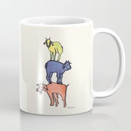 3 Billy Goats Up Coffee Mug