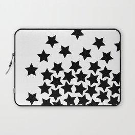 Lots of Black Stars Laptop Sleeve