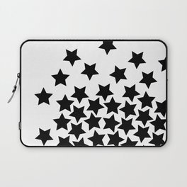 Lots of Black Stars Laptop Sleeve