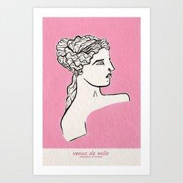 Venus de Milo statue Kunstdrucke