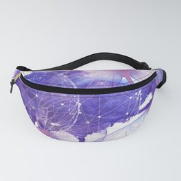 Be Patient - Modern Butterfly Artwork Fanny Pack