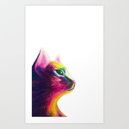 Chinese year of cats Art Print
