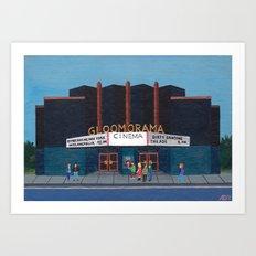 GLOOMORAMA Art Print