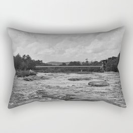 Looking Downriver Rectangular Pillow