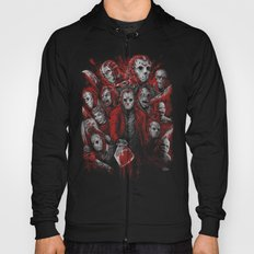 Jason Voorhees Friday the 13th Many faces of Hoody