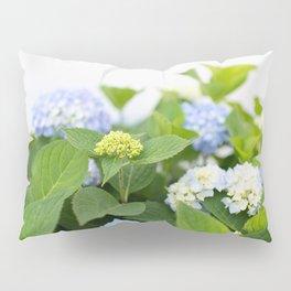 Blooming Hydrangeas Pillow Sham