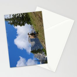 Ram Against Mountain Backdrop Stationery Cards