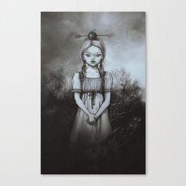 Raðljóst Canvas Print