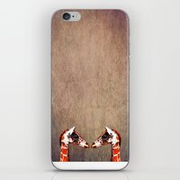 twins iPhone & iPod Skins featuring twins by Steffi Louis