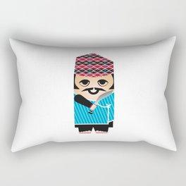 Nepali gurkha Rectangular Pillow