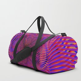 radial layers Duffle Bag