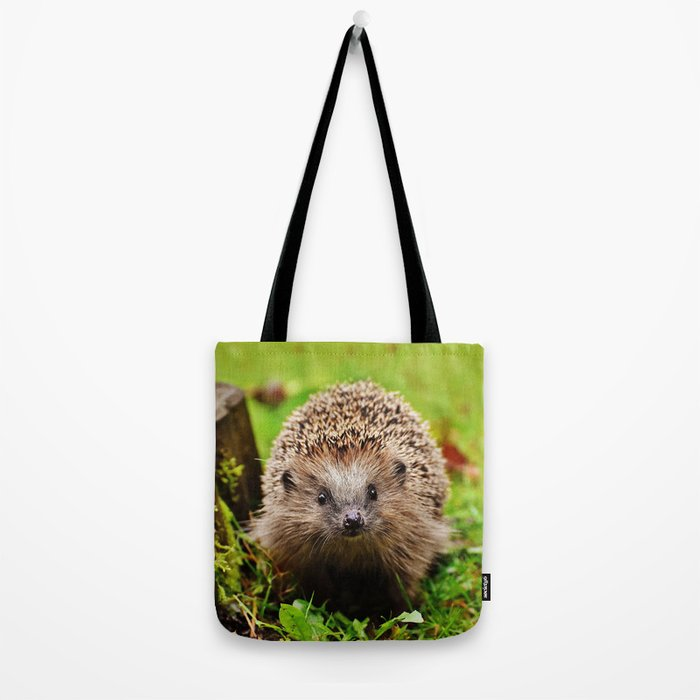 Cute Little Hedgehog Tote Bag