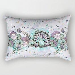 Audrey Mermaid Pattern 07 Rectangular Pillow