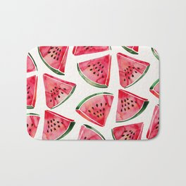 Watermelon Slices Bath Mat