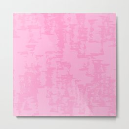Cotton Candy Naturalistic Metal Print