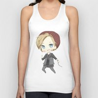 infamous Tank Tops featuring Pewdiepie Infamous: Second Son by PumpkinElite