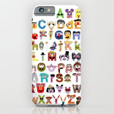 Sesame Street Alphabet Slim Case iPhone 6s