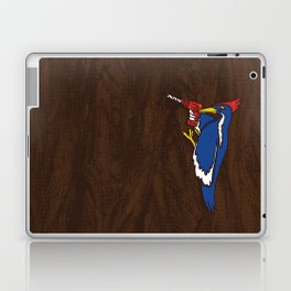 Modern Day Woodpecker Laptop & iPad Skin