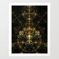 matrix Art Prints featuring Matrix by Eli Vokounova