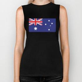 Australian Flag Biker Tank