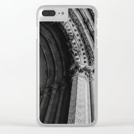 Cathedral Church of St. John the Divine II Clear iPhone Case