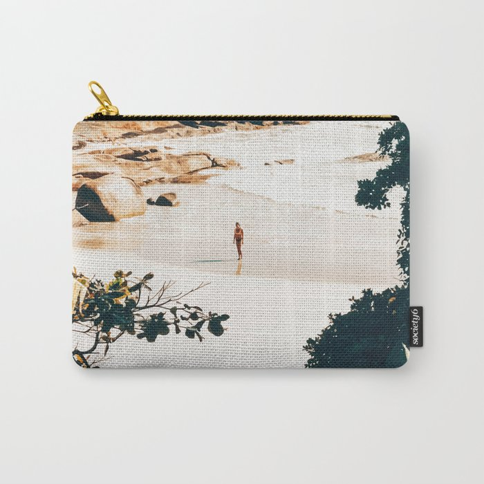 Solo Traveler || #illustration #travel Carry-All Pouch