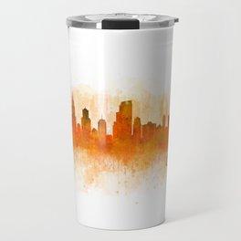 Chicago City Skyline Hq v3 Travel Mug