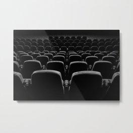 seat back Metal Print