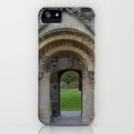 Glastonbury Abbey 1 iPhone Case
