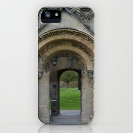 Glastonbury Abbey 1 iPhone Case