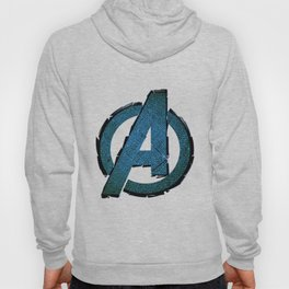 UNREAL PARTY 2012 AVENGERS LOGO FLYERS Hoody