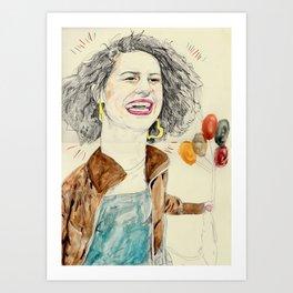 ilana Art Print