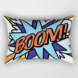 Comic Book Pop Art BOOM Rectangular Pillow