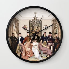 Pride and Prejudice and Werewolves Wall Clock