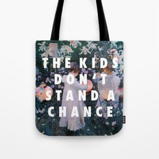 Lilies Don't Stand A Chance Tote Bag