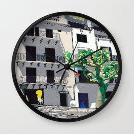 Cadaques Wall Clock