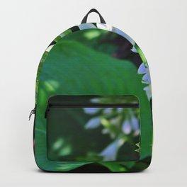 Hosta Flowers Backpack