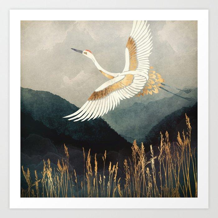 Elegant Flight Kunstdrucke
