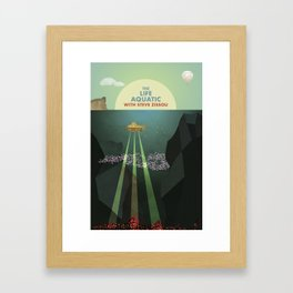 The Life Aquatic with Steve Zissou Framed Art Print