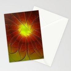 Luminous Fantasy, Abstract Fractal Art Stationery Cards
