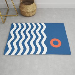 Nautical 03 Seascape Rug