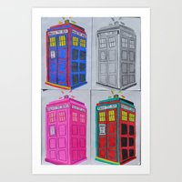 Anywhere in Time and Space Art Print