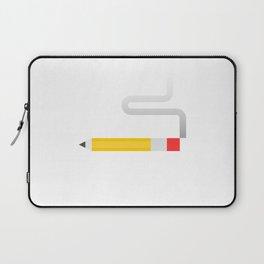 Smoking Pencil Laptop Sleeve