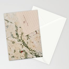 being in love in venice Stationery Cards